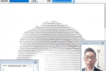 鬼畜字符集(Ascii Generator)生成器,一键图片转字符