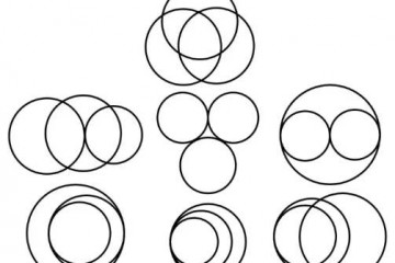 四个不同的圆,最多会产生几个交点?