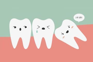 横生智齿医生建议不拔是真的吗?