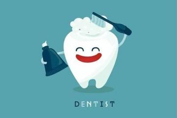 牙齿上有黑色的东西洗不掉怎么办